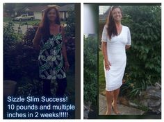 """This is what almost 50 looks like..I have been blessed to see the amazing transformation from a 20 to a snug size 10....Bring it on in with Sizzle Slim..BIKINI GOAL!  I started losing weight in Feb 2016, started at 246 pounds. I hit a plateau and was stuck at 180 pounds until I started Sizzle Slim 5/1/2017. Down 10 pounds in 2 weeks with Sizzle Slim!!!!!"" -Tonya"