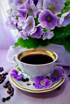 Setting of the table for coffee or a meal Coffee Cafe, Coffee Drinks, Coffee Shop, Good Morning Coffee Gif, Coffee Break, Chocolate Cafe, Pause Café, Tea And Books, Sweet Coffee