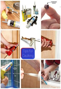 tips for caulking - use these tips for perfect results every time!