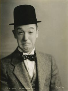 "Stan Laurel born Arthur Stanley ""Stan"" Jefferson on June 16, 1890"