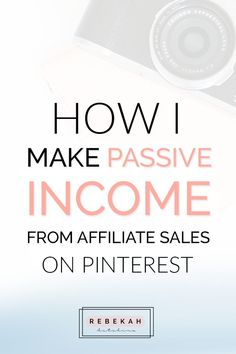 Check out these affiliate marketing tips for beginners who want to make money online. Learn about programs you can join and how you can make passive income by pinning your affiliate links on Pinterest. If you're a blogger or online business owner interested in earning money with affiliate marketing, click through for advice and ideas! #entrepreneur #onlinebusiness #followback