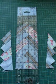 bluepatch quilter: making a braid block