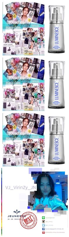 LUMINESCE CELLULAR REJUVENATION SERUM Growth factors are more than 200 types of collagen, elastin ... Skin softening fine lines and wrinkles to fade ... to rejuvenate myself. http://www.fillinitink.jeunesseglobal.com