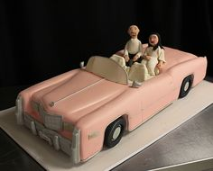 Cadillac Vegas Wedding Cake