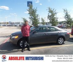 #HappyAnniversary to Charles W Kariampuzha on your 2007 #Toyota #Camry from Jones David at Absolute Mitsubishi!
