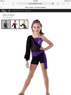Found this on cicci dance wear's website