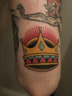 jacobs (above) elbow tattoo