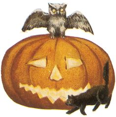 From: Old-Time Halloween Illustrations CD-ROM and Book