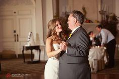 Jennifer Childress Photography | Park Savoy Estate | Associate Photographer | Wedding | Florham Park, NJ | Bride | Dance Floor | Father of the Bride    www.jennchildress.com