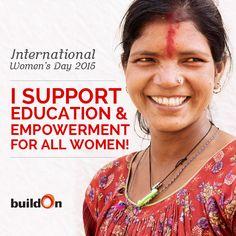 buildOn Celebrates International Women's Day 2015