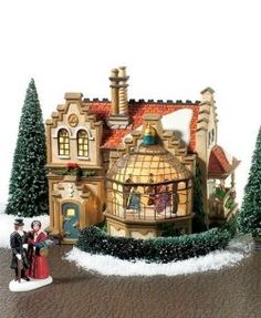 Dept. 56 Dickens Village Christmas At Ashby Manor