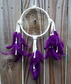 METAPHYSICAL DREAM CATCHER Amethyst Dreams by WhiteWolfeNativeArts, $15.00