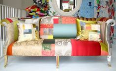 Squint – Funky patchwork furniture