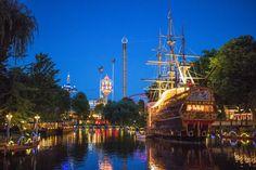 Copenhagen, tivoli, Denmark Tivoli Denmark, Copenhagen, Places To Travel, Destinations, Holiday Destinations