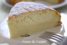 Gâteau magique a la vanille Bonjour tout le monde, Je sais vous allez me dire, oh le ...