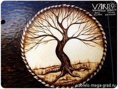 """Деревянный блокнот """"Древо"""". - изделия из дерева, альбомы, блокноты и тетради. Блокнот, скетчбук, артбук, дерево, древо, древо жизни, иггдрасиль, пирография, выжигание, выжигание по дереву, notebook, scetchbook, wood, woodburning, pyrography, VZBRELO, взбрело"""