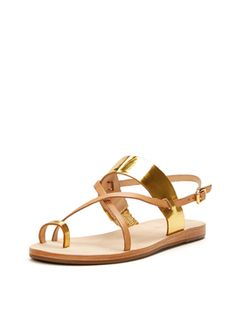Ashley Toe Strap Sandal from Vacation-Ready Sandals Feat. Maiden Lane on Gilt