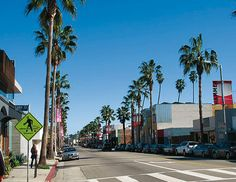 Abbot Kinney Boulevard in Venice Beach: A cute street lined with boutiques and novelty shops. A great way to spend an afternoon, even if you're just window shopping! Also, in biking distance of LMU