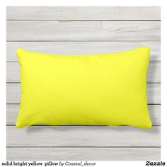 Shop Yellow Outdoor Lumbar Pillow created by SpookyColors. Lumbar Pillow, Bed Pillows, Cushions, Small Front Porches, Yellow Pillows, Porch Decorating, Decorating Ideas, Hat Shop, Perfect Pillow