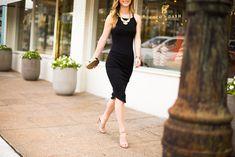 Little Black Dress | Eagle Necklace