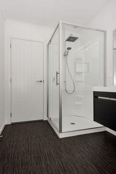 Millennium shower from Clearlite New Zealand Houses, Bathtub, Shower, Bathroom, Storage, Building, Furniture, Design, Home Decor