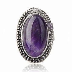 Tibet Silver Simulated Amethyst Oval Finger Cocktail Ring Adjustable Thboxes http://www.amazon.com/dp/B00NBP1SIO/ref=cm_sw_r_pi_dp_vonQub173MGR1
