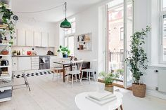 terrific scandinavian one room studio apartment in gothenburg digsdigs   Small Studio Apartment   Options: Walls, Lighting, Bean ...