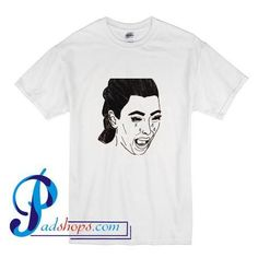 Kim Kardashian Crying Drawing T Shirt – padshops Kim Kardashian, Crying, Pop Art, Mens Tops, T Shirt, Stuff To Buy, Supreme T Shirt, Tee Shirt, Art Pop