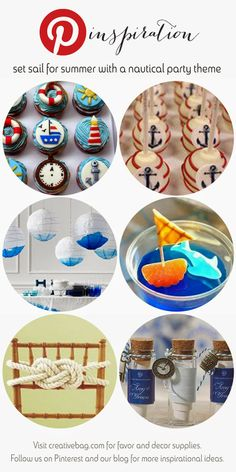nautical themed party ideas