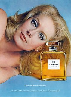 vintage_ads: Chanel N° 5 & its most famous face, Catherine Deneuve.