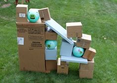 i am so doing this for the kids with all the boxes after we move!