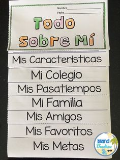 Spanish Interactive Flip Book: All About Me More