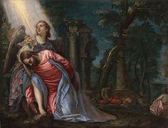 Paolo Veronese, Cristo nell'orto del Getsemani, Milano, Pinacoteca di Brera (dopo il restauro) #aspettandoveronese #mostraveronese