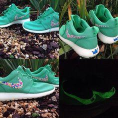 d09abeb423c5c7 nike roshe run Custom Hand Painted Art Jordan Hba Dope Deadstock Ds Kith  Bodega  Nike