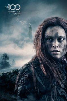Eliza Taylor as (Clarke) #The100