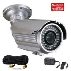 VideoSecu 700TVL CCTV Home IR Bullet Security Camera Built-in 1/3'' Sony Effio CCD Day Night Vision Outdoor Weatherproof IP66 OSD Menu 42 Infrared LEDs 4-9mm Vari-focal Lens for DVR Surveillance System with Power Supply, Extension Cable and Security Warning Sticker C86 by VideoSecu. $120.49. VideoSecu supplies a broad variety of high-quality, well-designed and easy-installed security cameras at affordable prices. The professional security camera is one of the ...