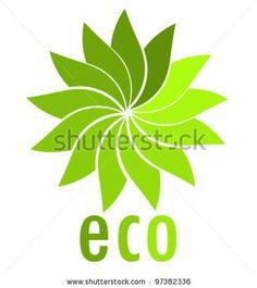 Eco symbol. Vector illustration - stock vector
