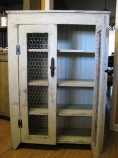 Primitive/Country/Rustic Pie Cupboard by OurPrimitiveKountry