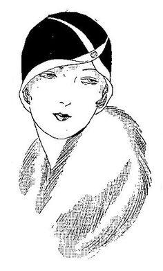 Digital: Mode ill. vorwiegend 1910-1920er Jahre auf der gesamten Pinnwand (einz. Links nicht überprüft)
