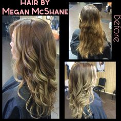 Fall hair. Fall Ombre. Balayage ombre. Fall hair color. Hair by Megan McShane