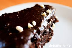 Tinteguris ondskapsfulle sjokoladekake (Det søte liv) Chocolate, Baking, Eat, Desserts, Recipes, Drink, Food, Blogging, Bread Making