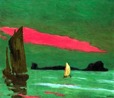 Emil Nolde 1867 - 1956 Südseeinsel (South Sea Island)