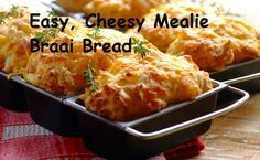 Easy, Cheesy Mealie Braai Bread and many other Braai recipes South African Braai, South African Dishes, South African Recipes, Africa Recipes, Kos, Braai Recipes, Cooking Recipes, Oven Recipes, Meat Recipes