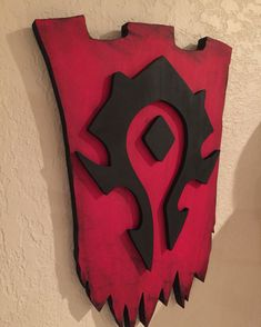 World of Warcraft Horde 3D sign banner