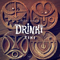 Drinki Tikis can hold any size glass, and will make any surface in your home a lot more fun! 4 inches wide and ½ inch thick, these unique one of a kind coasters are completely handcrafted, carved from...