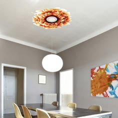 Cool decoration for the ceiling!  (65) Fab.com | Vered Ceiling Decal Red