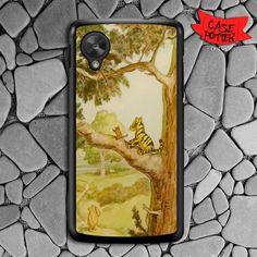 Winniethe Pooh Tiggers Nexus 5 Black Case