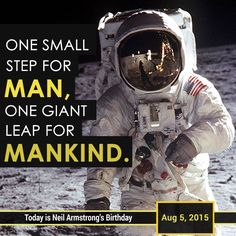 Neil Alden Armstrong was an American astronaut and the first person to walk on the Moon. He was born on August 5, 1930. #NeilArmstrong #Armstrong