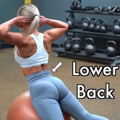 Back Exercises Exercises to Get Rid of Lower Back Fat Here are exercises to get rid of lower back fat!Exercises to Get Rid of Lower Back Fat Here are exercises to get rid of lower back fat! Fitness Workouts, Sport Fitness, Body Fitness, Physical Fitness, Fitness Games, Squats Fitness, Health Fitness, Fitness Style, Fitness Design