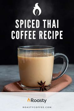 Taste all the wonderful flavors that this recipe has to offer! Yes, you can put this over ice but who doesn't love a nice hot cup of coffee in the morning? Give this coffee recipe a try and then have it again... and again... and again!! Thai Iced Coffee, Vietnamese Iced Coffee, Easy Coffee, Coffee Ideas, Great Coffee, Coffee Drinks, Spanish Coffee, Latte Recipe